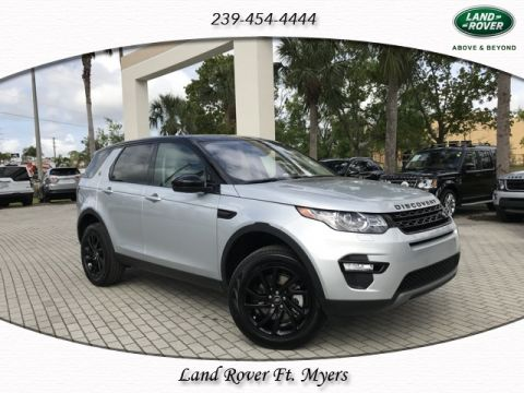 New 2018 Land Rover Discovery Sport SE