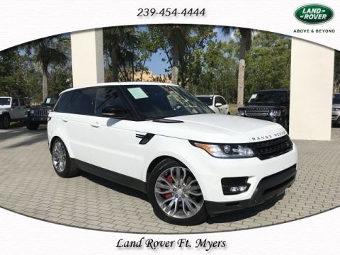 Certified 2015 Land Rover Range Rover Sport 5.0L V8 Supercharged DYNAMIC PACKAGE