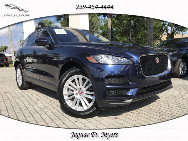 certified pre-owned 2018 jaguar f-pace 35t prestige 4 door suv in