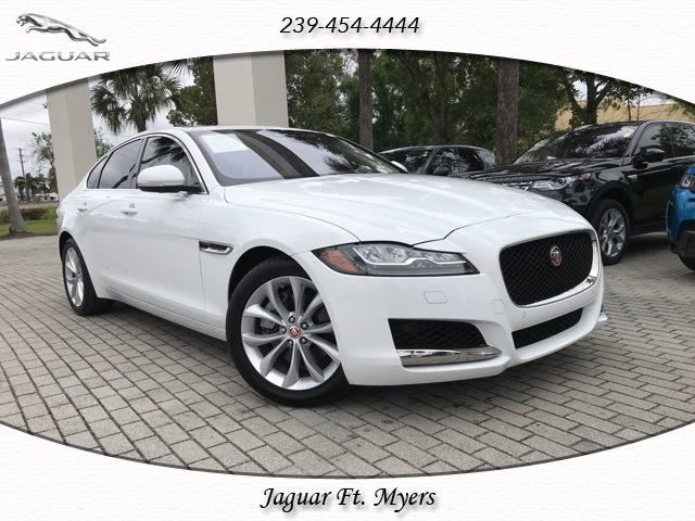 certified pre-owned 2018 jaguar xf premium 4 door sedan in fort