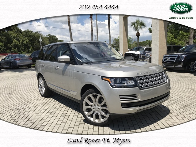 New 2017 Land Rover Range Rover 3.0L V6 Supercharged HSE