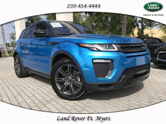 Certified Pre-Owned 2018 Land Rover Range Rover Evoque Landmark Edition