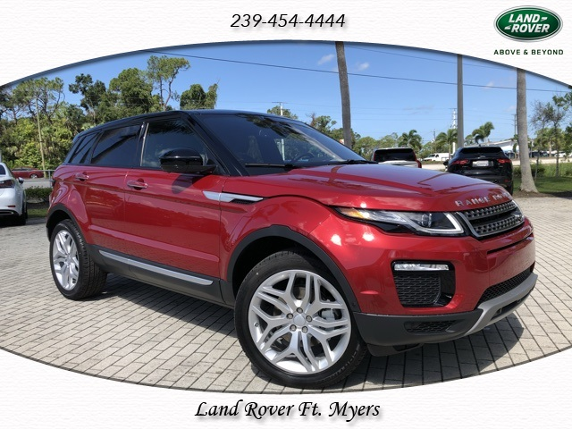 New 2018 Land Rover Range Rover Evoque HSE