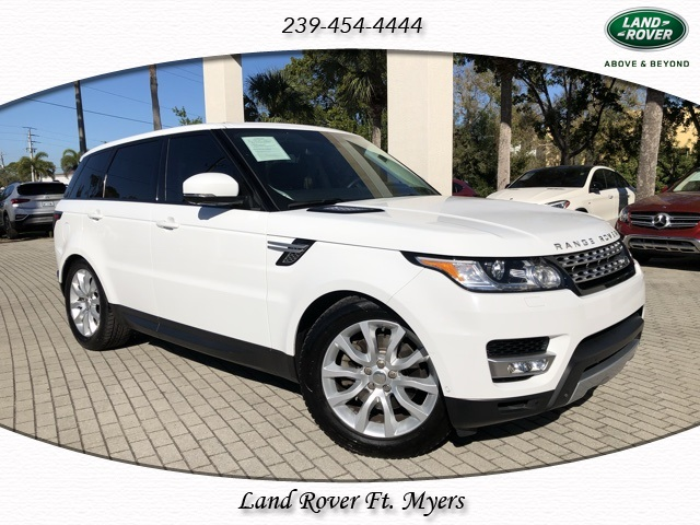 Certified Pre-Owned 2014 Land Rover Range Rover Sport 3.0L V6 Supercharged HSE