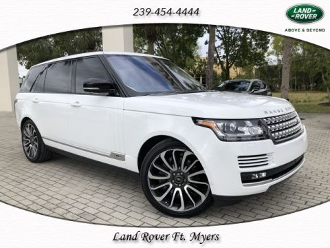 Certified Pre-Owned 2016 Land Rover Range Rover 5.0L V8 Supercharged LWB