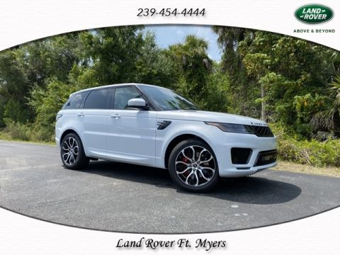 New 2020 Land Rover Range Rover Sport V8 Supercharged